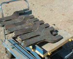 Aluminium Metal plate Cuttings